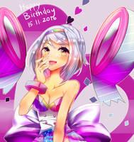 Birthday Gift Rinuii 2016 by SarahWidiyanti