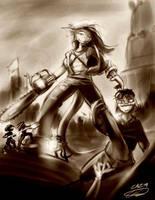 Z - Army of Dorkness by Noben