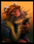 Dragon Luffs by Noben