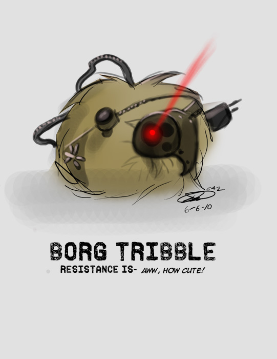 Borg Tribble by Noben