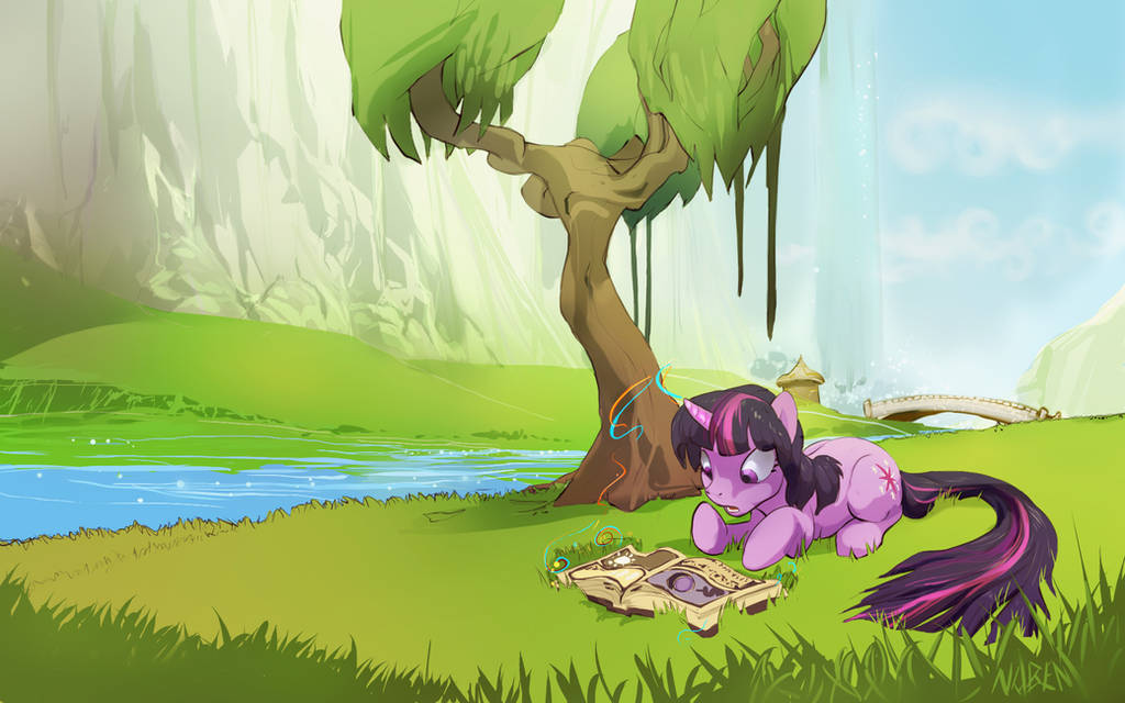 s1e1 One day in the foothills of Canterlot.. by Noben