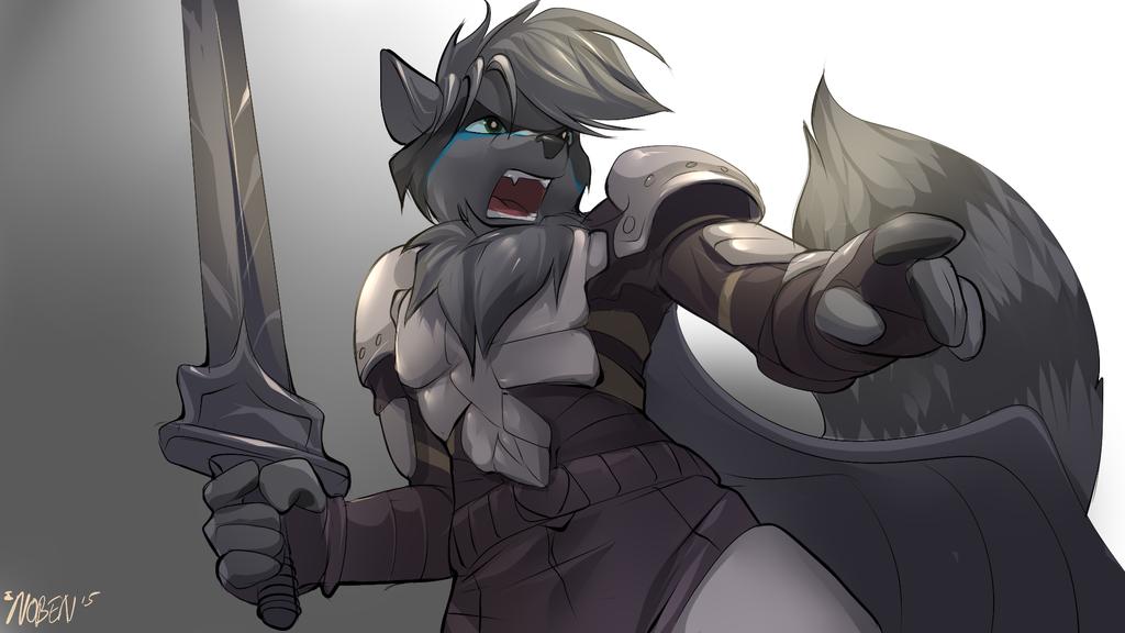 Aigus Raccoon by Noben