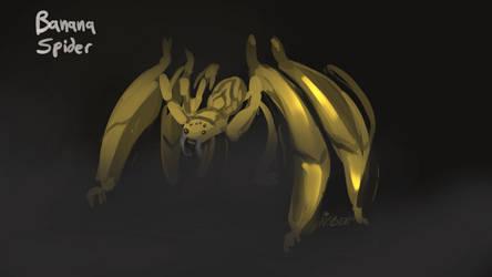 banana spider by Noben