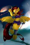 Rusty Art - Ferrfire the Pegasus