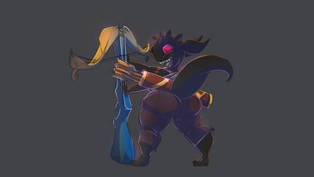 Rogue Fighter Kobold by Noben