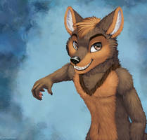 Smiling Coyote by jamesfoxbr