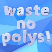 Waste No Polys!