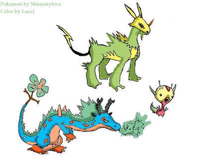 New Pokemon: Set One by lucidpop