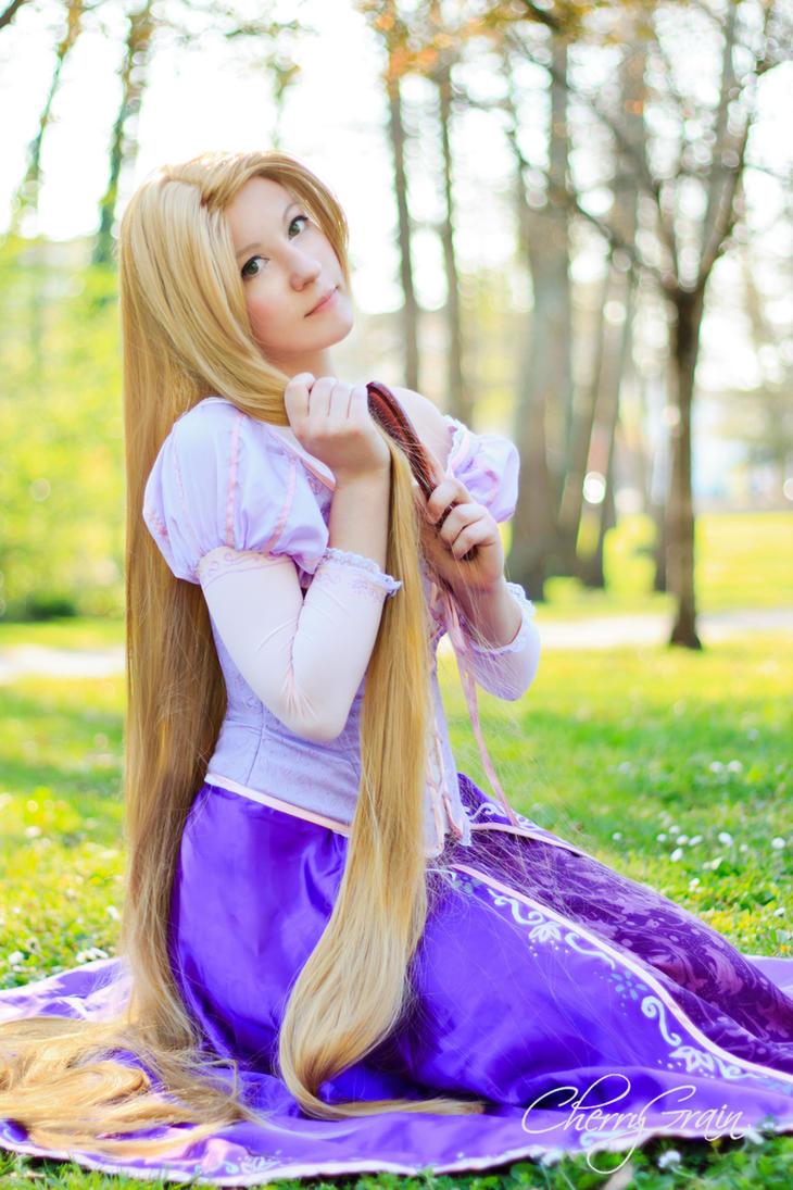 Tangled - Rapunzel by Chibiko-Chibi