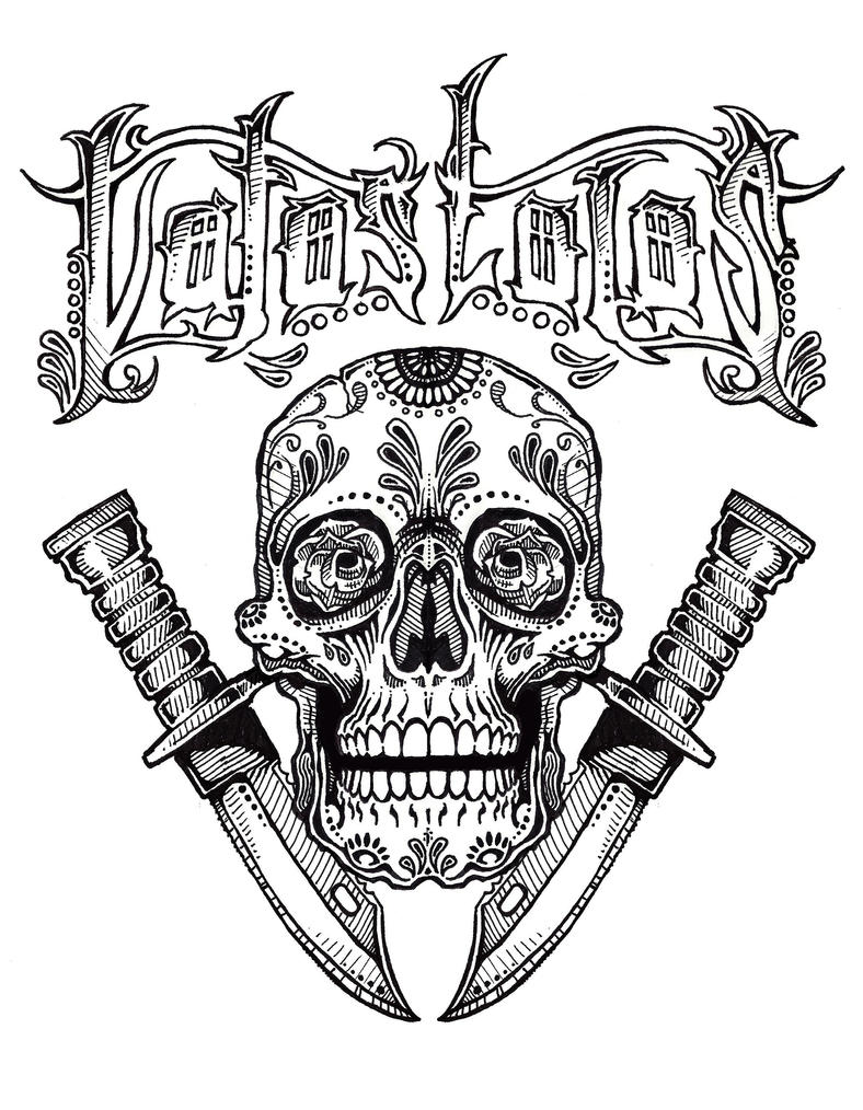 Vatos Locos Tattoo By Euphoriousin On Deviantart