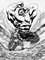 Hulk Vs Wolverine by EuphoriouSin
