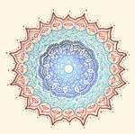 Radiant Color Mandala