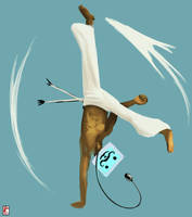 C for Capoeira - Computer - Chamba by Senior-X