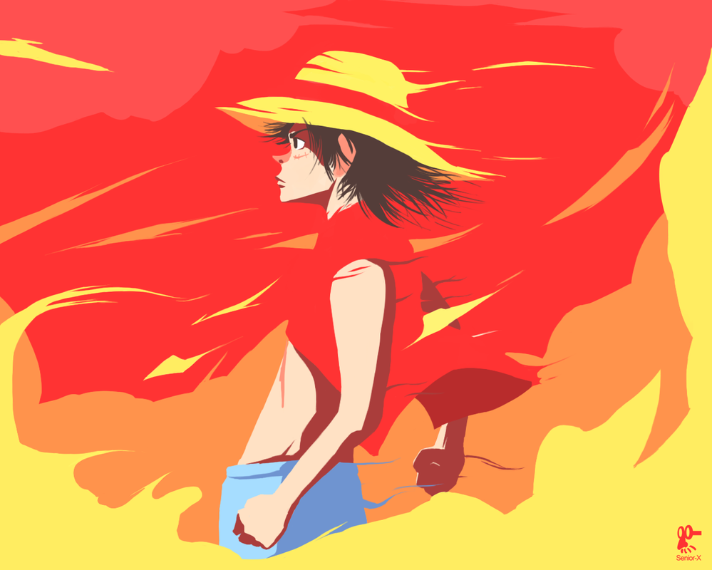 Luffy Tribute by Senior-X