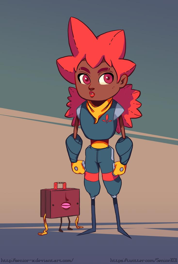Little Adventurer by Senior-X