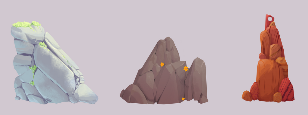 rocks and stones by Senior-X