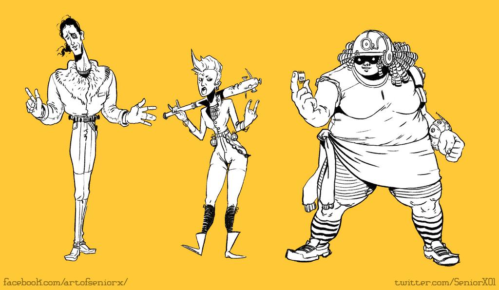 weird squad by Senior-X