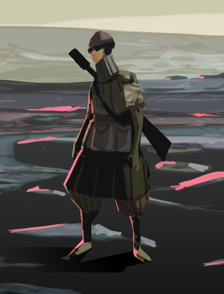 Apocalypse Soldier by Senior-X