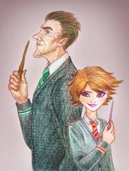 Strange Magic x Hogwarts AU by kittifiedmeow