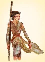 Rey by kittifiedmeow