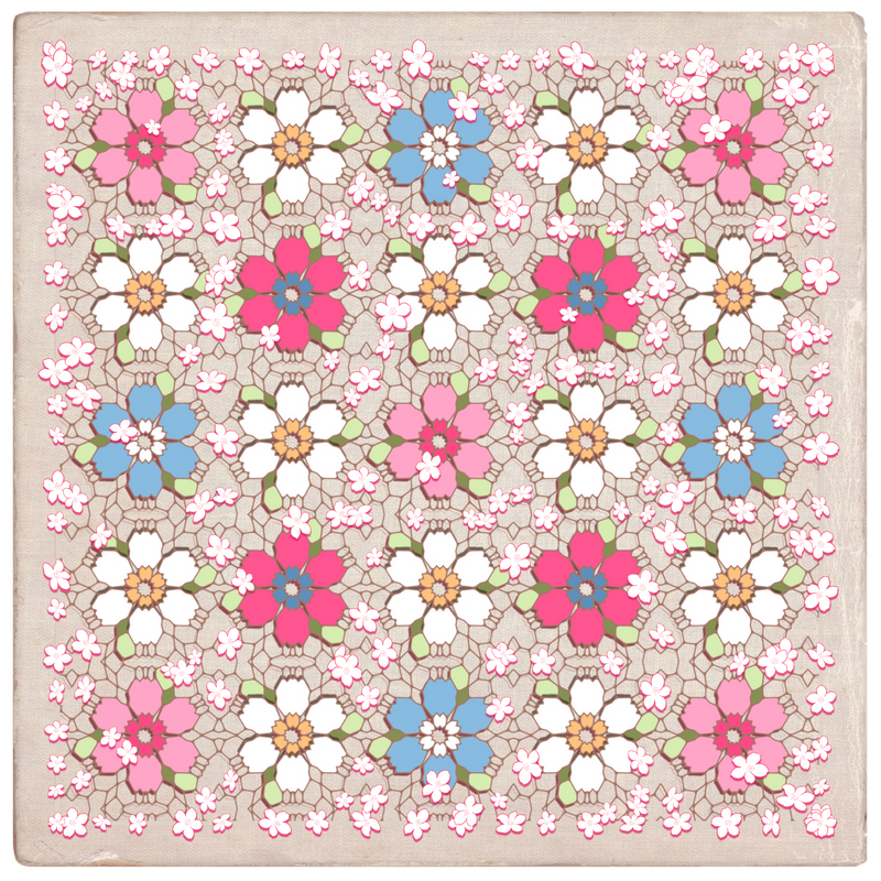 Flowery Quilt by BunnyNosePink---333