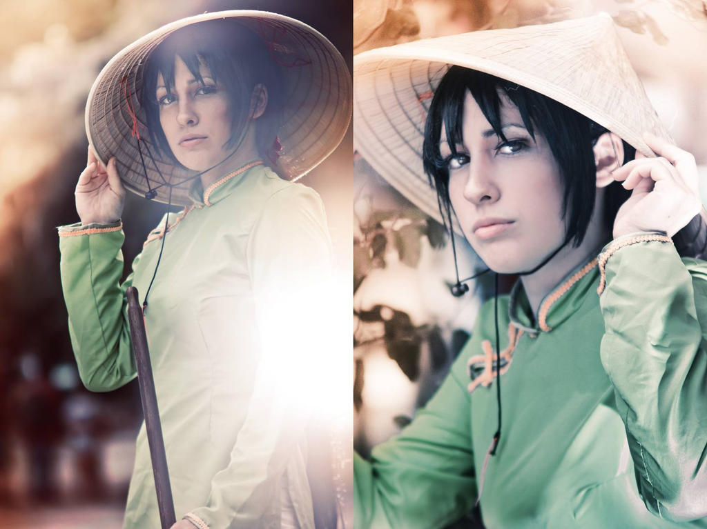 APH cosplay: Vietnam by AngelGabrielWolff