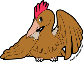 Fearow by Poefish