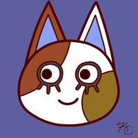 ACNL Purrl by Poefish