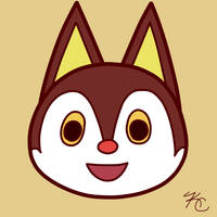 ACNL Rudy by Poefish