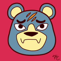 ACNL Groucho by Poefish