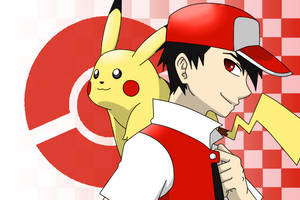 Red and Pikachu by Poefish