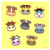 ACNL - Bulls and Cows by Poefish