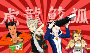 Ace Attorney Animals by Poefish