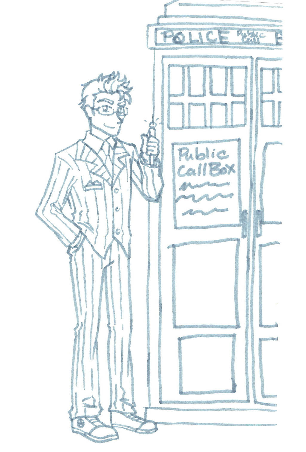 The Doctor by Poefish