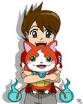 Keita and Jibanyan