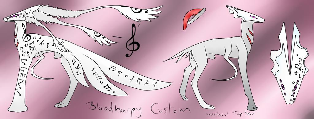 BloodHarpy Rare Custom by midnightstardragon