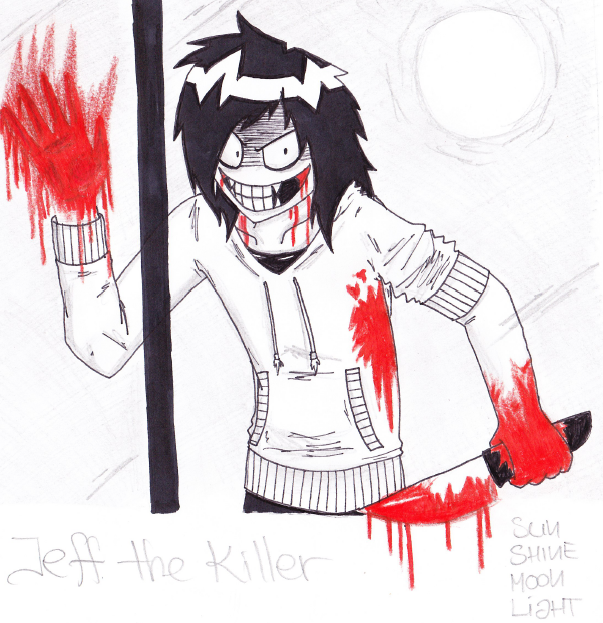 redraw jeff the killer - photo #38