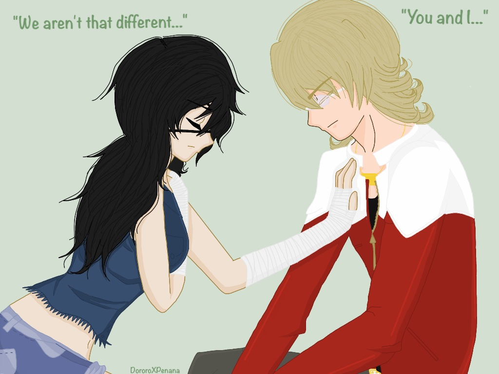 +We Aren't So Different...You and I...+ by DororoXPenana