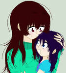 ~:Mommy and daughter:~