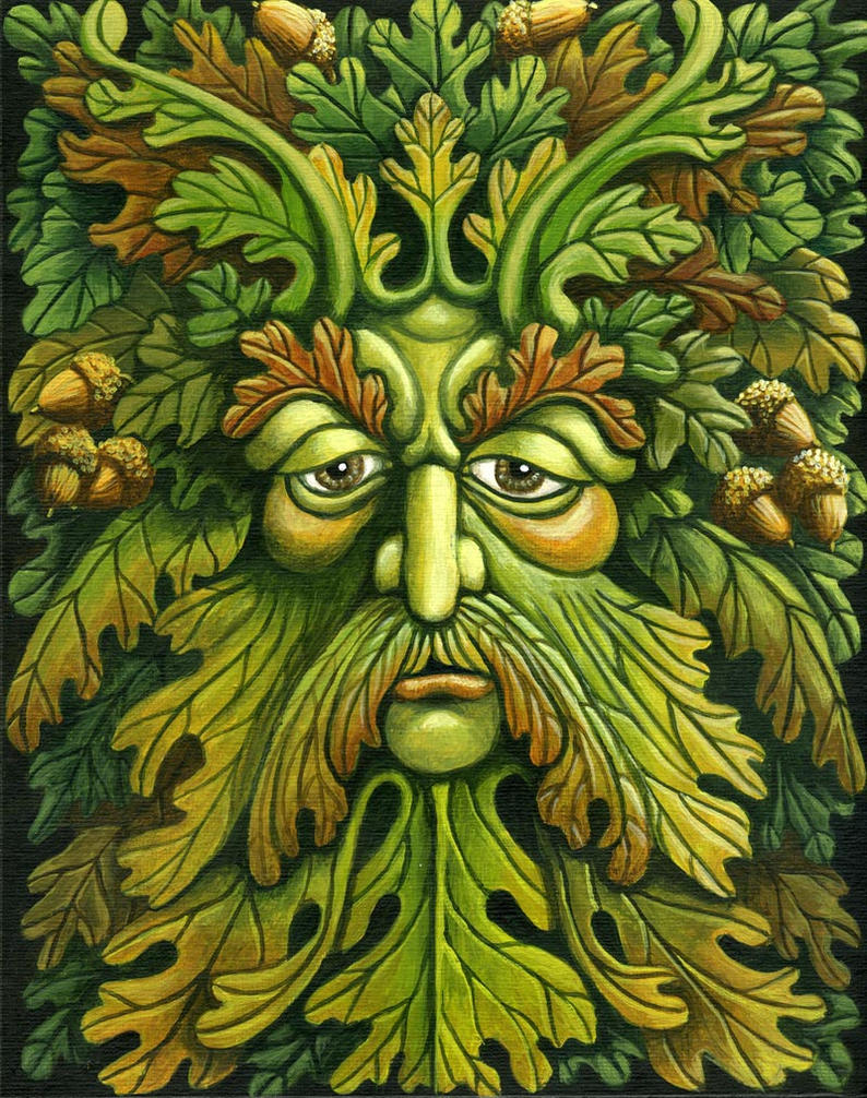 Oak King by ravenscar45