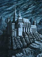 Castle Dracula by ravenscar45