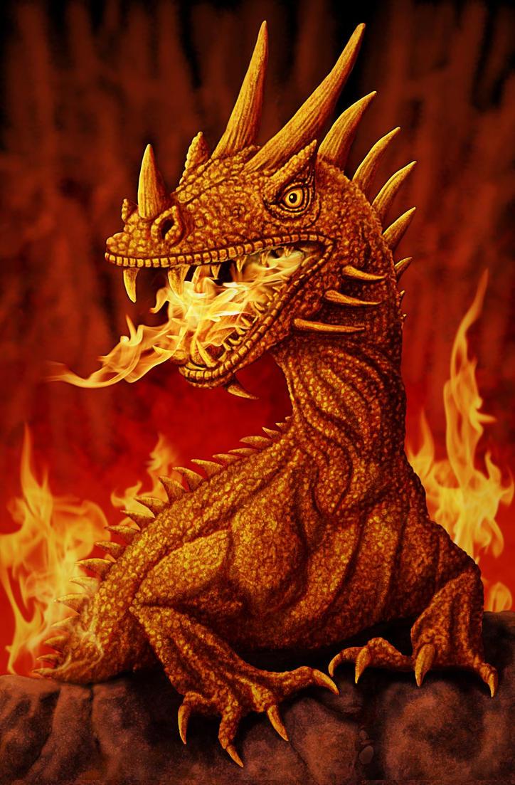 Fire Dragon by ravenscar45