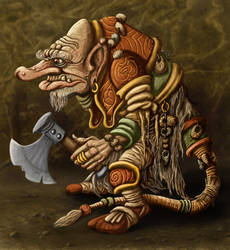 Forest Troll by ravenscar45