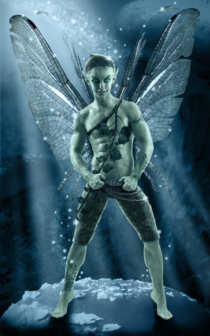 Hot male fairy porn pic