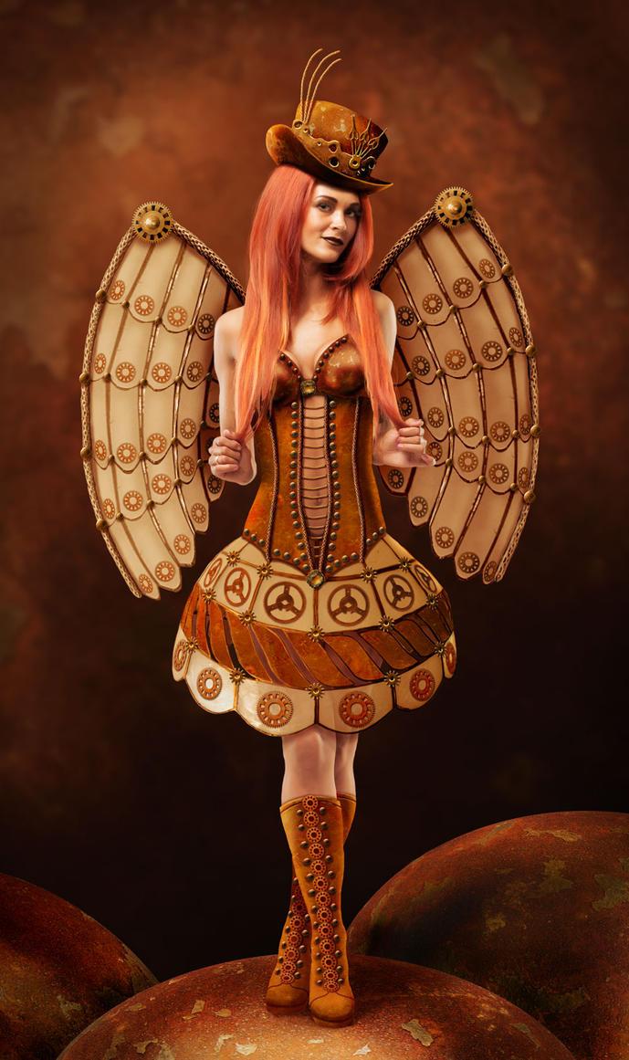 Steampunk Faerie by ravenscar45