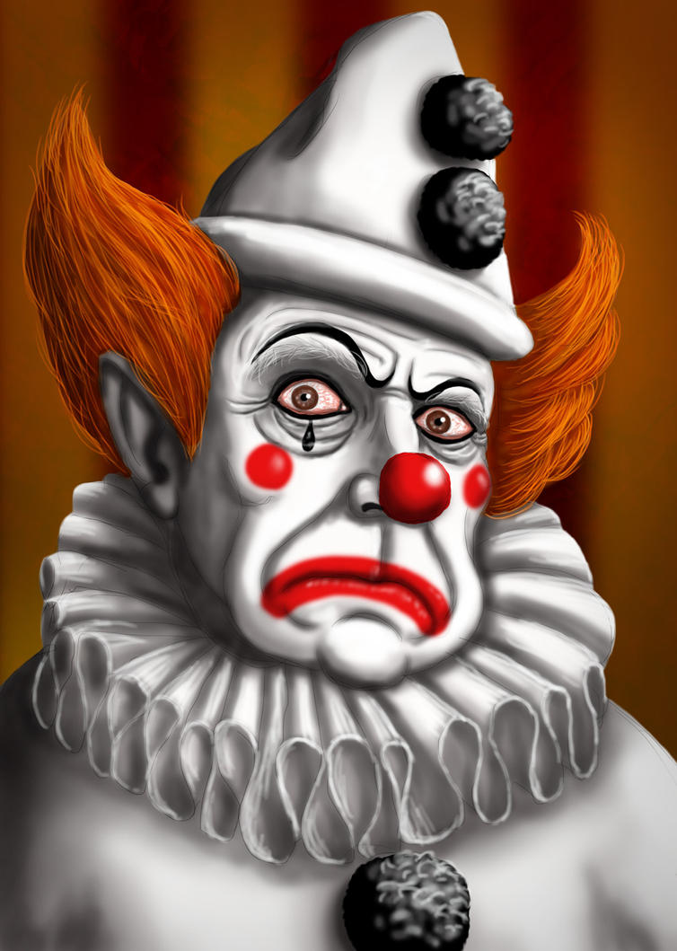 Sinister Clown by ravenscar45