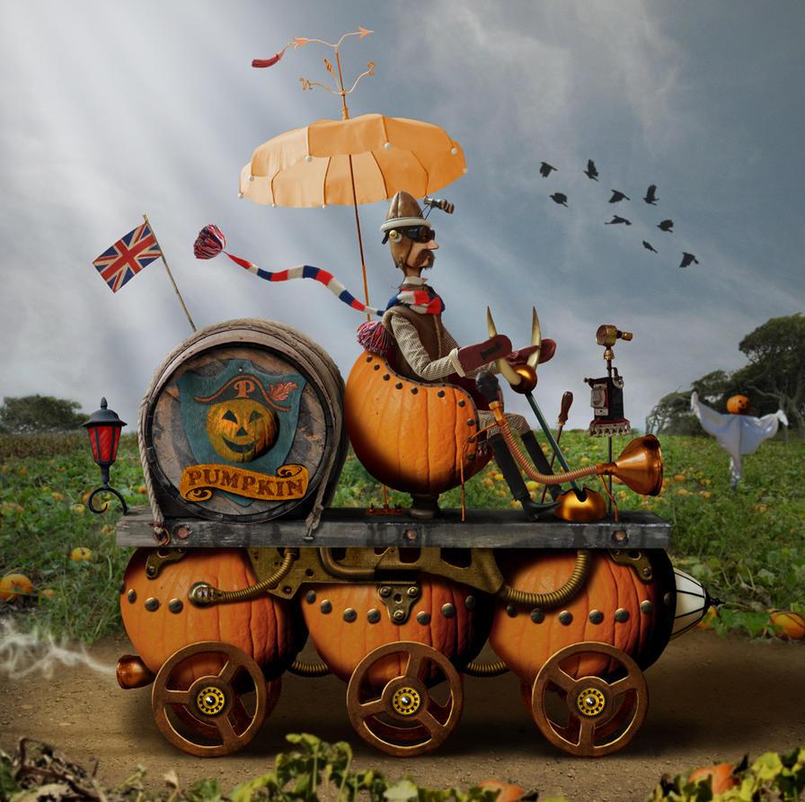 Pumpkin Power by ravenscar45