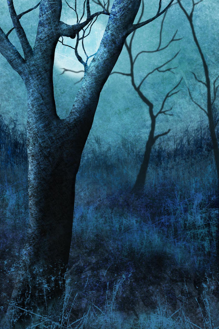 Trees by Moonlight by ravenscar45