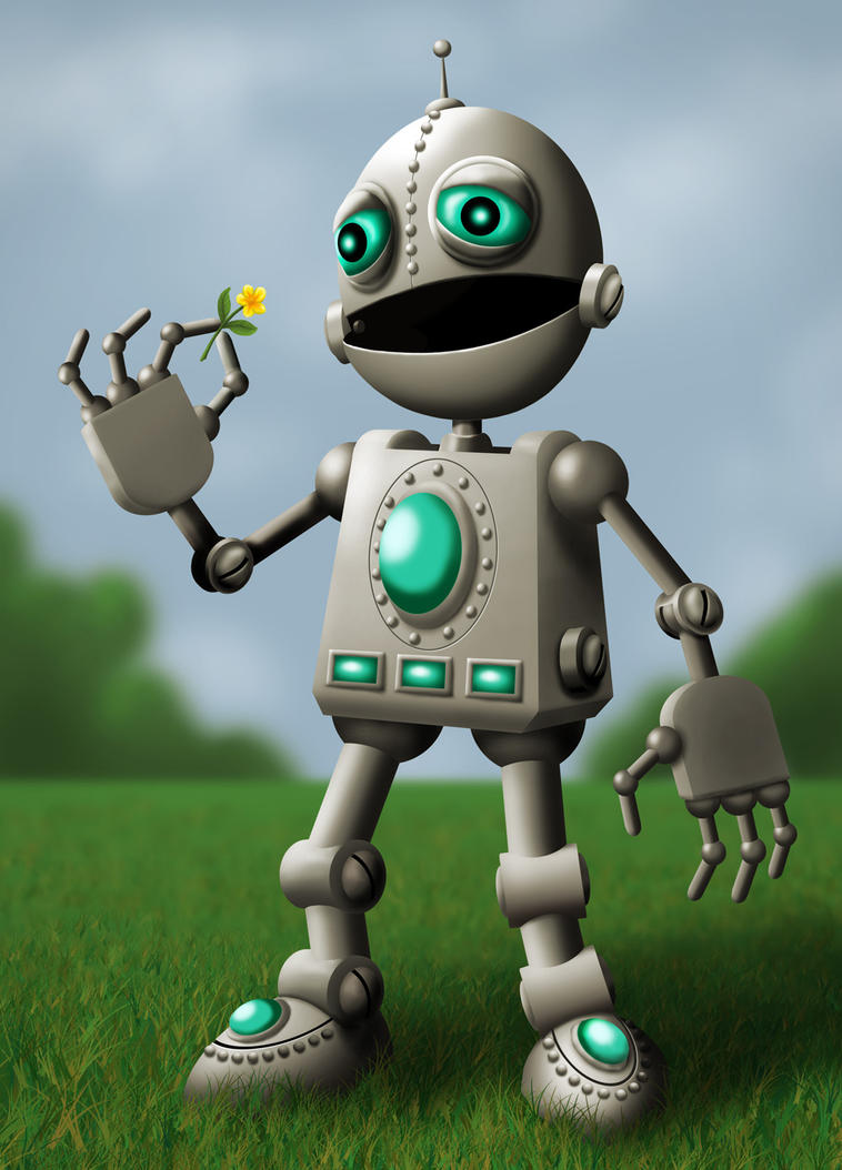Robot by ravenscar45