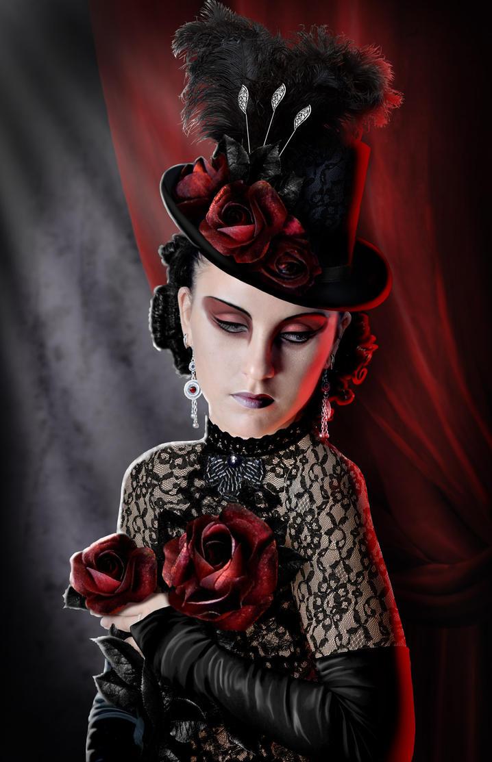 Gothic Roses by ravenscar45